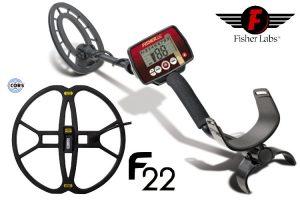 Fisher F22 Mit Tiefensuchspule